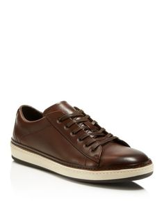 To Boot Fields Leather Sneakers
