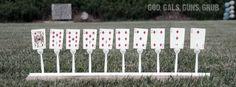 Five-Bucks: Plastic Fork Target Stands (gotta practice to be prepared)