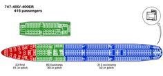 747 Seating Charts