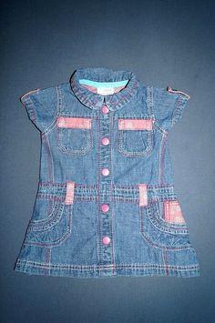 Next Jeanskleid Gr. Next, Kind Mode, Denim, Jackets, Fashion, Down Jackets, Moda, Fashion Styles, Fashion Illustrations