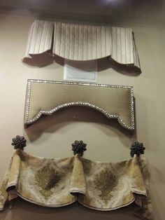 simple, elegant and classic. using different fabrics and trim