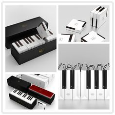 The inspiration for this design, the piano, is an instrument that creates beautiful harmonies from the combination of each individual key's sound Gift Packaging, Packaging Design, Piano Memes, Diy Birthday, Birthday Gifts, Piano Gifts, Paper Quilling, Diy Gifts, Vip