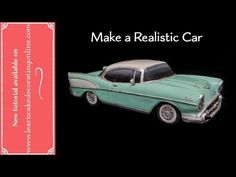 How to make a Realistic Chevy Car Cake - YouTube
