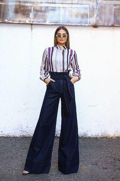 Women S Fashion Dropshippers Usa Info: 9838407946 Curvy Fashion, Look Fashion, Fashion Pants, Fashion Outfits, Womens Fashion, Fashion Design, Fashion Black, Petite Fashion, Fashion Ideas