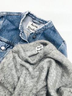 Ce printemps, il devrait être facile de transformer sa veste en jean en pièce Acne !