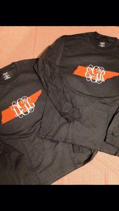 Monogrammed Tennessee Shirt