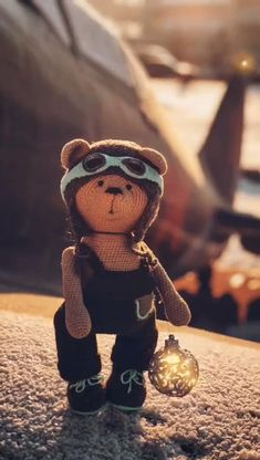 Crochet Bear, Cute Crochet, Crochet Toys Patterns, Stuffed Toys Patterns, My Friend, Friends, Great Words, Handmade Toys, Pilot