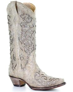 Dandy Look, Cowgirl Wedding, Country Wedding Boots, Country Style Wedding Dresses, Wedding Dress Trends, Wedding Ideas, Wedding Stuff, Wedding Notes, Wedding Outfits