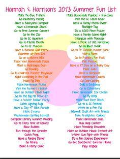 Summer Fun Ideas for Kids