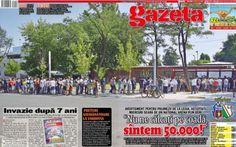 Mîine e Steaua - Legia » Arena va fi full cu stelişti, azi se vînd ultimele bilete! Copertă specială a Gazetei News