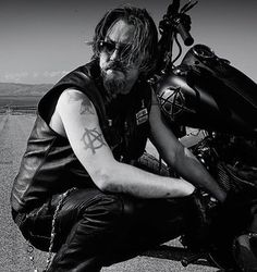 Sons of Anarchy's Chibs I do love to give this warm hearted man some good heroic story someday.