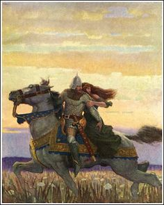 N. C. Wyeth ~ The Boy's King Arthur ~ Published by Charles Scribner's Sons 1919