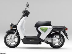 Electric Scooter for kids - EV- Neo from Honda Electric Moped Scooter, Cheap Electric Scooters, Electric Scooter For Kids, Kids Scooter, Electric Cars, Cheap Electricity, Side Car, Motorcycles, Toys