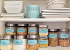The Social Home: New Pantry Label Collections | 204 Labels including Basics, Vegan, Gluten Free, Baking, Bins and more!