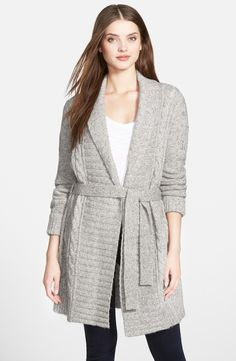 Caslon® Long Cardigan (Regular & Petite) | Black Friday ...