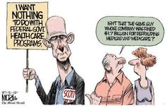 Comment on the FB page where this is posted: YES, IT IS, it is also the guy who pled the 5th amendment SEVENTY-FIVE TIMES during his trial for Medicare and medicaid fraud. Gov. Rick Scott, the criminal who would be King!