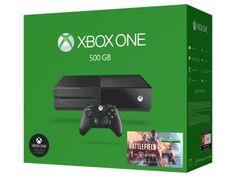 Xbox One 500GB Microsoft 1 Controle - Fabricado no Brasil com 1 Jogo via Download com as melhores condições você encontra no Magazine Netzai. Confira!