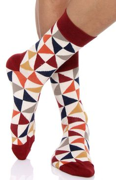 Pact  Heritage Crew Sock Bundle MSKBL3 - Pact Socks