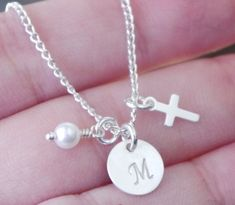 Girls Baptism Gifts Baptism Gifts for Godchild by MadiesCharms, $22.95