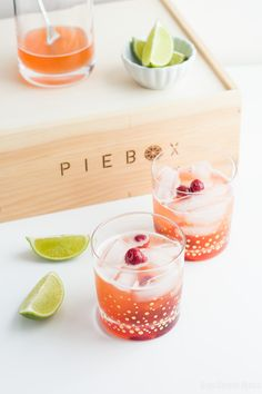 Cherry Pie Cocktail: Slightly sweet with an extra kick of booze. This cocktail combines cherry-infused whiskey amaretto, bourbon, and a splash of club soda.
