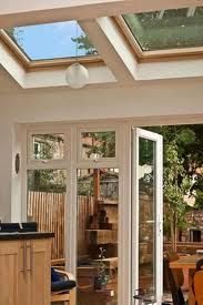 New Patio Roof Glass Conservatory 25 Ideas Kitchen Extension Glass Roof, Roof Extension, Glass Kitchen, Extension Ideas, Glass Conservatory, House Extensions, Kitchen Extensions, Roof Architecture, Roof Styles
