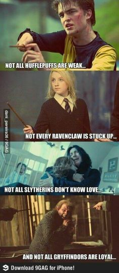 Hogwarts' Houses.