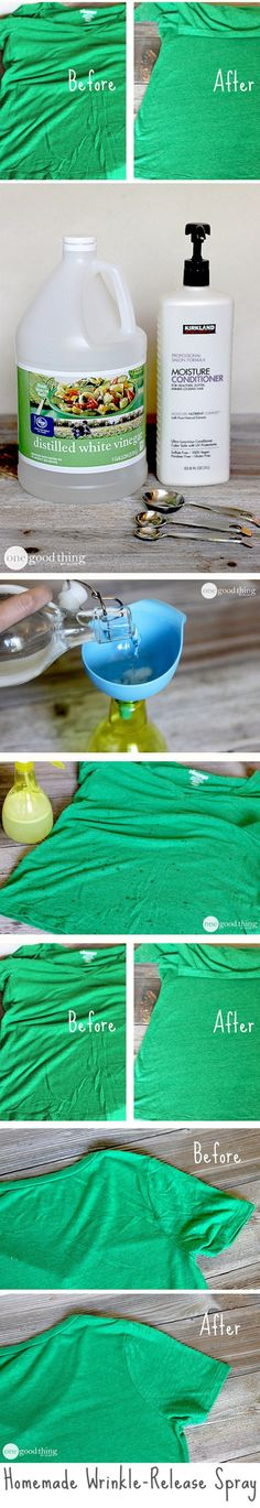 DIY Homemade Wrinkle Release Spray Instructions | DIY Tag