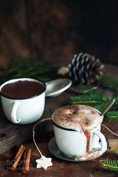 Magical Hot Chocolate by MajaG  IFTTT 500px beverage cacao chocolate christmas cinnamon cup delicious dessert drink food gourmet h