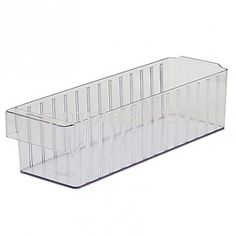 Akro Mils® Crystal Clear 31168 AkroDrawer. Sold By Monster Bins In Packs Of