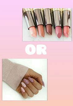 Nails or lipstick  💅 or 💄