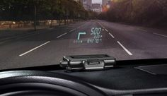 Fighter Jet technology for the common driver! Navigation Via Your Windshield; Garmin Head Up Displays for Cars Arrive