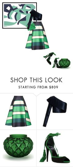 """""""Lanvin meets Carla Accardi"""" by theitalianglam ❤ liked on Polyvore featuring Lanvin, Balmain, Lalique, Pierre Hardy, Bottega Veneta, women's clothing, women, female, woman and misses"""