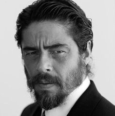 He looks different everytime i see him.. i like this version just fine - benicio del toro