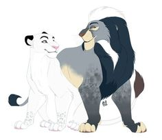 Keela and Indigo [Commission] by Ale-Tie on DeviantArt Kiara Lion King, The Lion King 1994, Lion King 2, Disney Lion King, Lion King Tree, Lion King Fan Art, Lion Art, Lion King Drawings, Lion Drawing