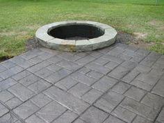 concrete patio design ideas   Various Hardscape Projects