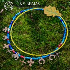 Naszyjniki historyczne : Kram Stjepana Glass Beads, Medieval, Beaded Necklace, Jewelry, Beaded Collar, Jewlery, Pearl Necklace, Jewerly, Schmuck