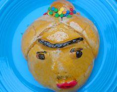 Frida Kahlo pan de muerto