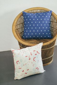Double sided cushions by Agustina Barcelona