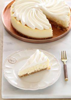 עוגת גבינת מסקרפונה ולימון