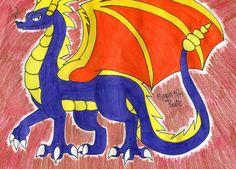 Elder Spyro by SilentDragon64.deviantart.com on @DeviantArt