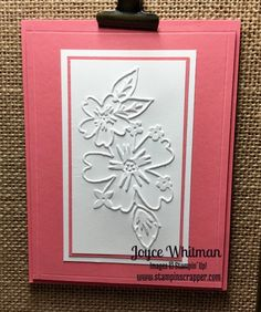Floral Affection Sympathy Card