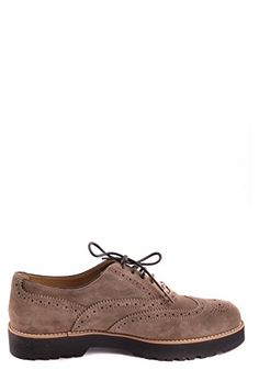 Hogan Women's Brown Suede Lace-Up Shoes Lace Up Shoes, Dress Shoes, Partner, Brown Suede, Cole Haan, Oxford Shoes, Best Deals, Link, Fashion
