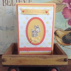 My Stampart - Baby, Stampin' Up! Card