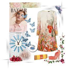 .................... by ludmila-petrova on Polyvore featuring mode, Oscar de la Renta, Inge Christopher, T. LeClerc, Mod Made, Balmain, women's clothing, women's fashion, women and female