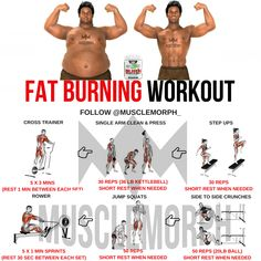 FAT BURNING WORKOUT LOSE FAT EXERCISE MUSCLEMORPH GYM MUSCLEMORPHSUPPS.COM