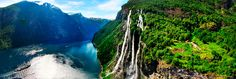 Let the UNESCO-protected Geirangerfjord and its surroundings dazzle you with stunning nature - Photo: Making View/www.visitnorway.com