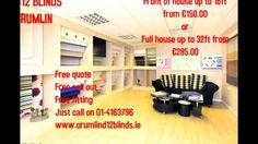 Crumlin D12 Blinds specialist in Roller blinds