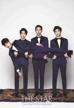CNBLUE Covers The Star Magazine's February 2014 Issue | Couch Kimchi