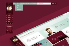 Tyrion. UI & APP Layout by Just Creative Ideas on Creative Market