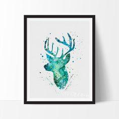Deer Stag Head 2